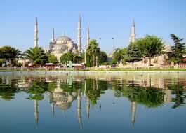 masjid biru (blue mosque) turki