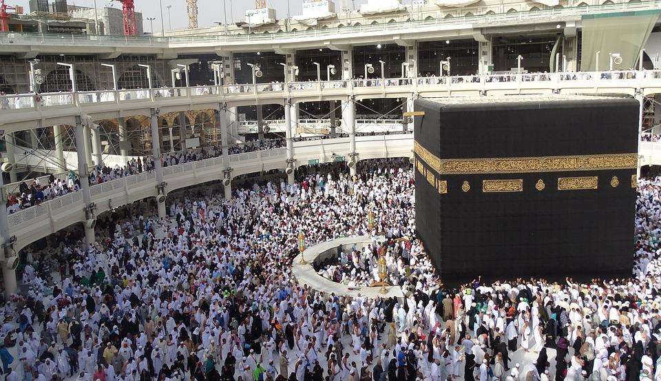 sisi menarik masjidil haram